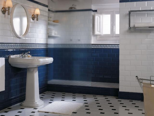 Moderní koupelny – inspirace secesním stylem