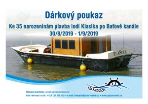 Read more about the article Nevíte, jaký vybrat dárek na Vánoce nebo k narozeninám? Zkuste plavbu na lodi!