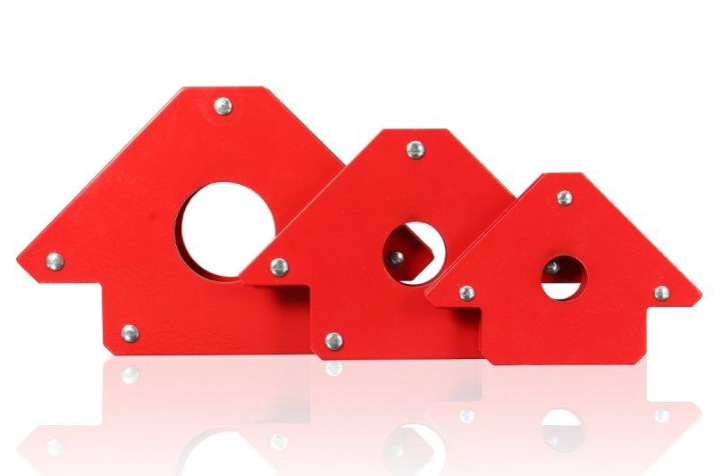 Magnetické úhelníky vám usnadní vrtání, svařování i lakování